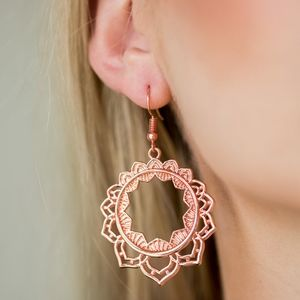 Mox and Match Coppertone Earrings